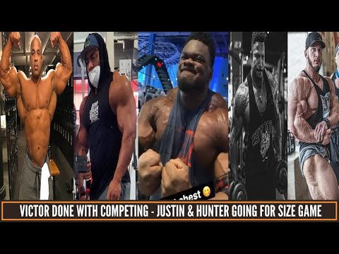 Victor Martinez is done with Competing-Hunter Labrada & Justin going for size game & more updates