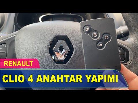 Renault Clio 4 Anahtar Yapımı | Yedek Kopyalama - Oto Anahtarcı İstanbul