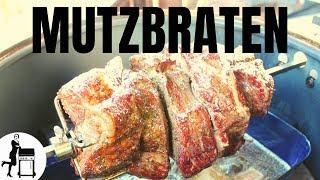 Mutzbraten Rezept vom Drehspieß - Ostdeutsche Spezialität
