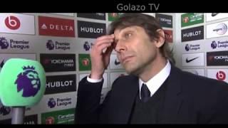 Antonio Conte Post Match Interview - Chelsea 0-0 Leicester City