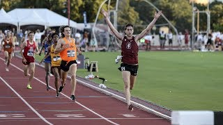 Stanford's Steven Fahy recovers from late fall to win NCAA steeplechase title in thrilling fashion