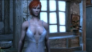 Party in Vizima: Shani and Carmen Catfight over Geralt (Witcher 1)