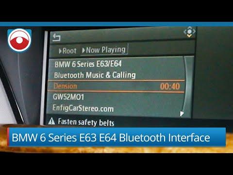 BMW 6 Series Bluetooth E63 E64 | Dension GW52MO1 GW52MO2