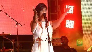Tessanne Chin sings Hide away at Bob Marley 70
