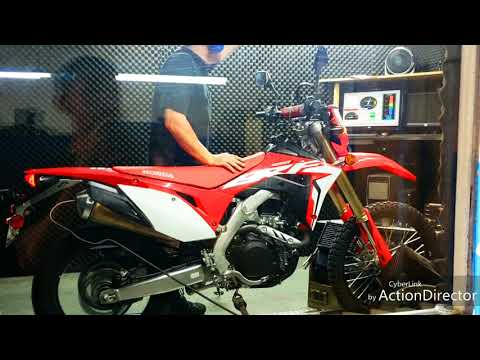 Honda CRF450L Horsepower, Torque, Top Speed, and Gears! Dyno-jet