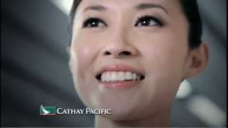 Cathay Pacific - People. They make an airline. Grace Hui Flight Attendant English (英语)