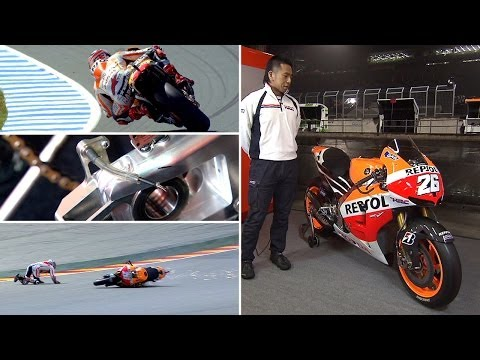 MotoGP™ Workshop - Honda on role of sensors