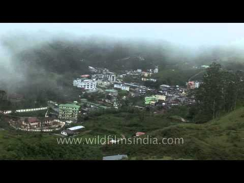 Munnar and mist - a top view