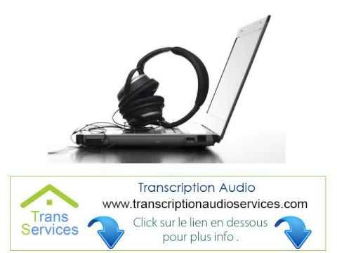 Madagascar Transcripteur Audio A Domicile