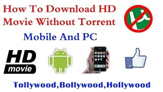 How to Download latest movies    without using torrent    Telugu