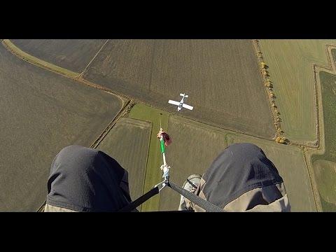 Paragliding incident Sweden Härekeberga 20131012