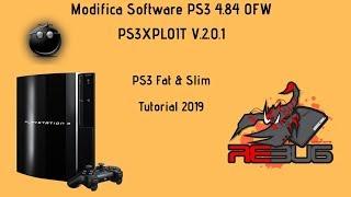 [TUTORIAL] Modifica Software PS3 OFW 4.84 / PS3XPLOIT - 2019 - FAT & SLIM