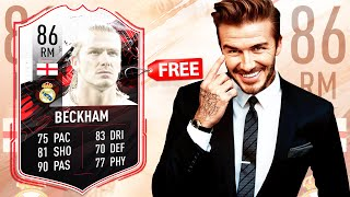 How To Get A Free David Beckham Card In FIFA 21 Ultimate Team