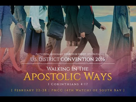 PMCC (4th Watch) US District Convention 2016
