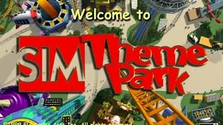 Sim Theme Park gameplay (PC Game, 1999)