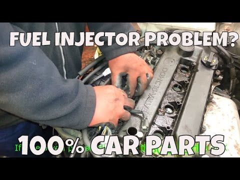 HOW TO CHANGE REPLACE FUEL INJECTOR RAIL MAZDA 6