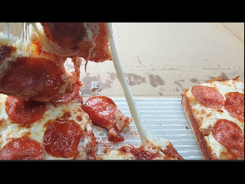 Little Caesars Stuffed Crust DEEP Dish Pizza