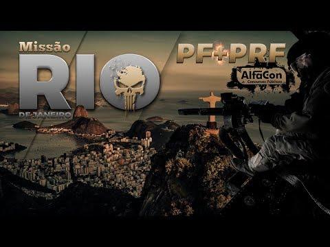 MISSÃO PF e PRF - RIO DE JANEIRO - AO VIVO - AlfaCon Concursos Públicos
