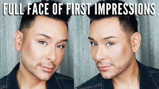 FULL FACE of First Impressions | Easy Spring Summer Beauty Routine & Tutorial | mathias4makeup