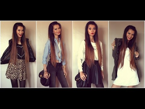 Summer to Fall Outfits | Fashion Lookbook 2014 - Summer To Fall Outfits Fashion Lookbook 2014 - YouTube