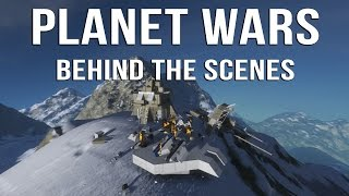 Space Engineers | PLANET WARS - Behind the Scenes!