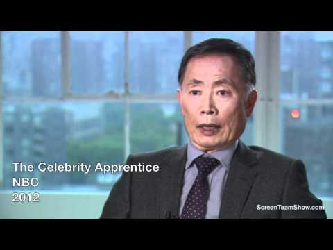 George Takei HD Interview - The Celebrity Apprentive Season 5