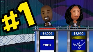 Jeopardy (Wii Edition) Gameplay - Episode #1