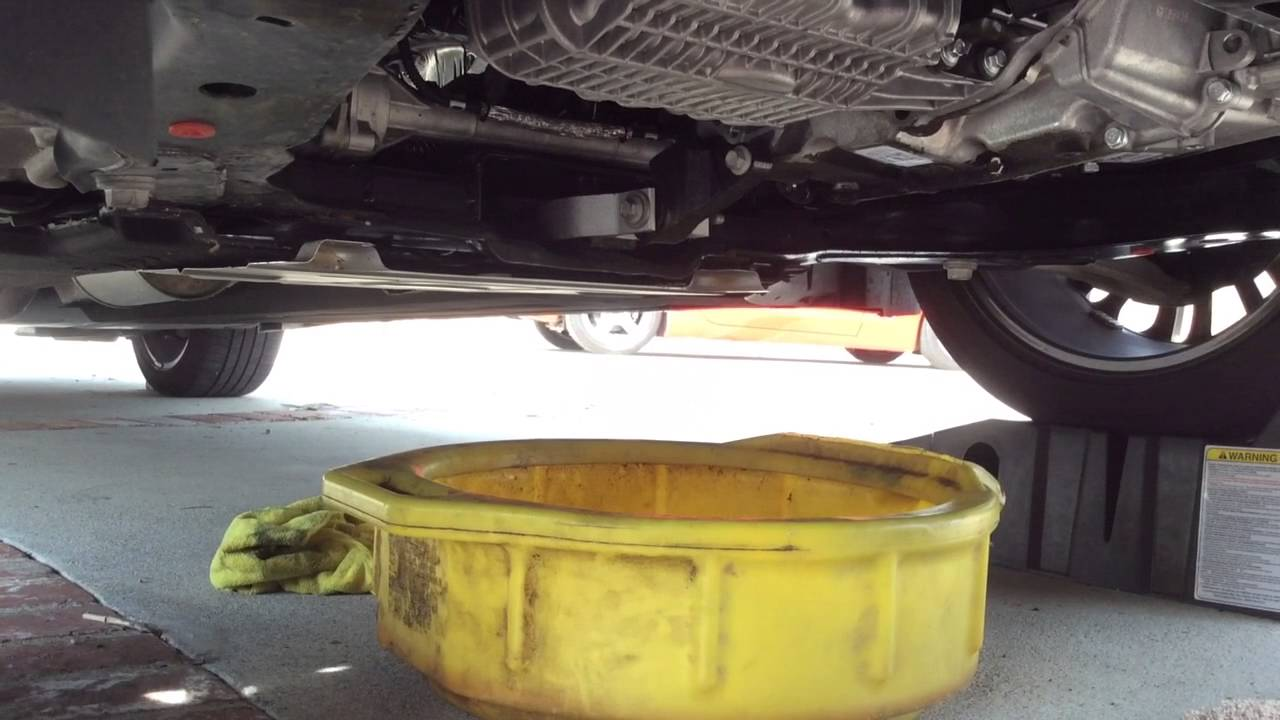 ford fusion oil change youtube