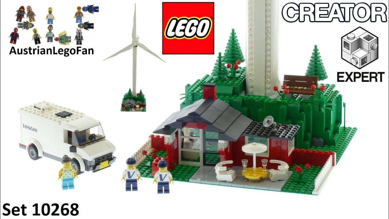 Lego Creator 10268 Vestas Wind Turbine Speed Build