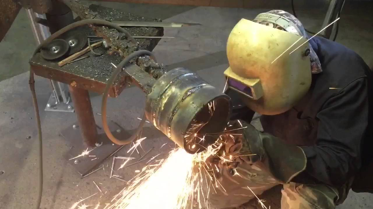 stick welding  smaw  5g root pass on pipe