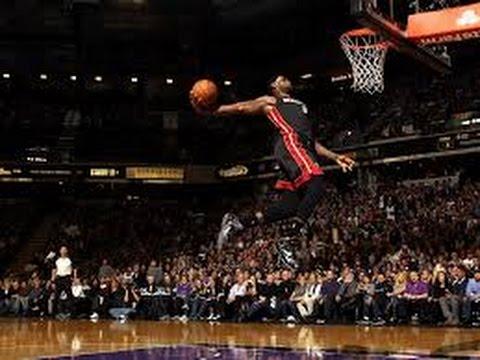 LeBron James Top 10 Dunks /HD/