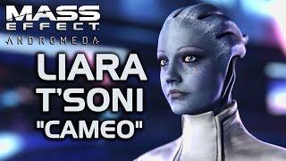 Mass Effect romeda  Liara T39;Soni quot;Cameoquot;