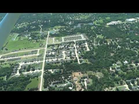 Flying over Stillwater Oklahoma - Part 1