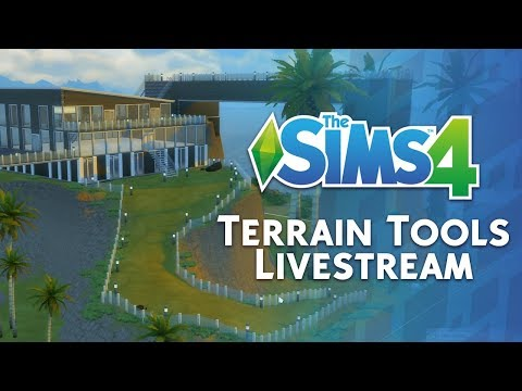 The Sims 4 Terrain Tools: Official Livestream Replay
