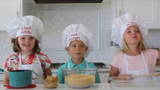 How To Make No Bake Scotcheroos Bars - Kids in the Kitchen | Six Sisters Stuff