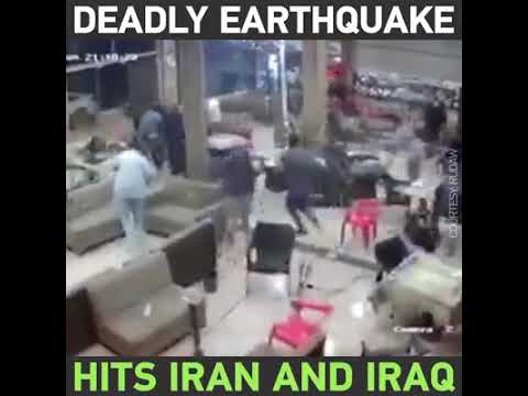Deadly Earthquake hits Iran and Ira