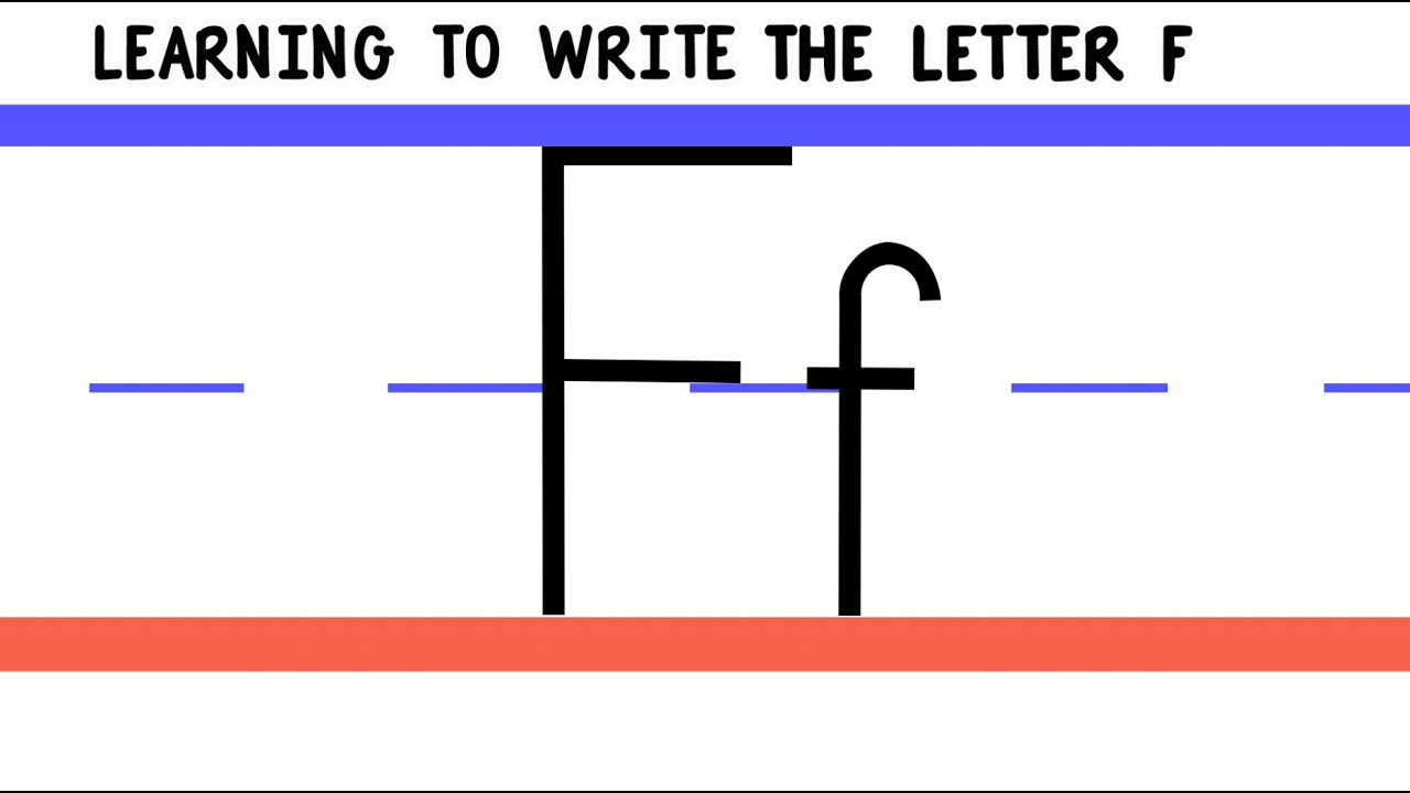 How To Write Letter R