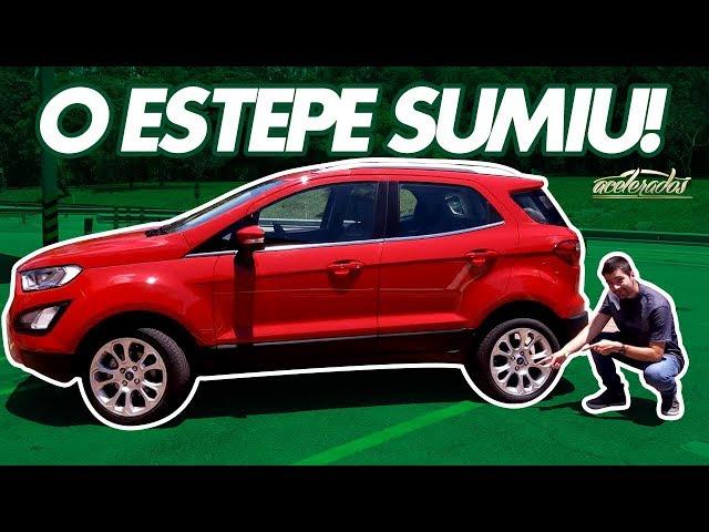 A nova traseira do EcoSport! Menino do Interior acelera o SUV com pneus run flat - AceleVlog #72
