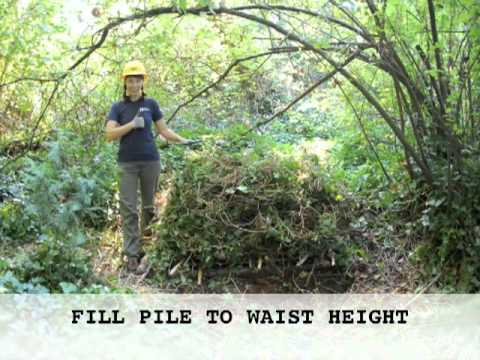 Green Seattle Partnership How-to Video: Composting on-site: