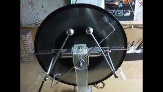 Электрофорная машина из грампластинок своими руками(В качестве дисков я использовал грампластинки,а привод от 12-ти вольтовых двигателей. Сейчас она проходит..., 2015-11-06T16:40:20.000Z)