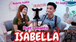 Download Lagu DUET LAGU MALAYSIA ISABELLA - SEARCH (LIRIK) LIVE AKUSTIK BY NABILA SUAKA FT TRI SUAKA mp3
