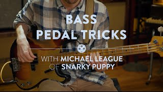 Bass Pedal Tricks With Michael League of Snarky Puppy | Reverb Interview