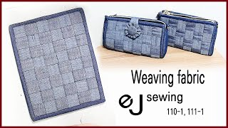 EJ-110-1,111-1/ Weaving fabric…