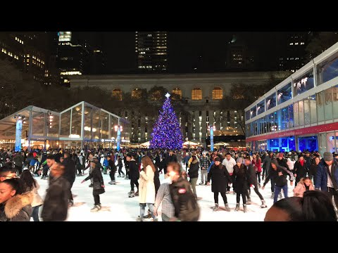 bank of america winter village at bryant park is midtown manhattans winter wonderland - Bank Of America Christmas Eve Hours