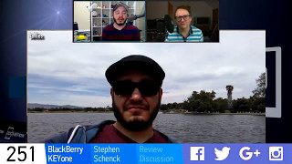 #PNWeekly 251  BlackBerry KEYone review discussion w/ Stephen Schenck