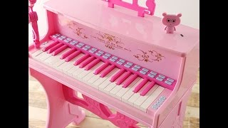 【玩具天下】兒童電子琴帶麥克、寶寶生日新年禮物、鋼琴生日禮 鋼琴介紹/マイク、赤ちゃんの誕生日、新年の贈り物、ピアノの誕生日のピアノのプレゼンテーション