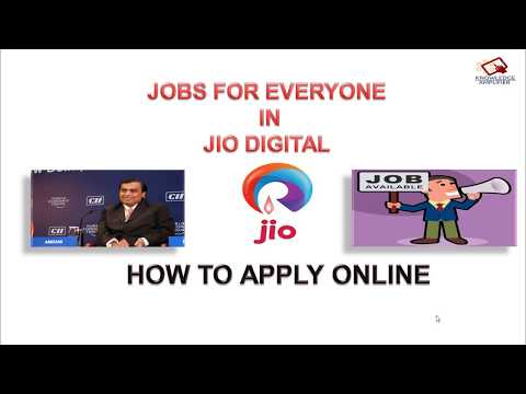Lots of Jobs in Reliance JIO Digital..Full Process Explained How to Apply..