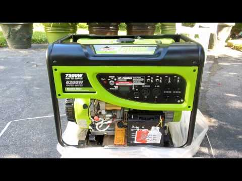 REVIEW: Dual Fuel Generator (Propane & Gasoline); Smarter Tools GP7500DEB