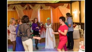 Свадебный банкет в стиле 90-х