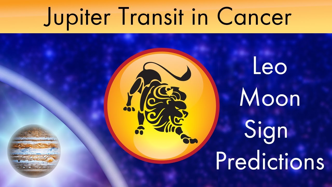 Jupiter transit in cancer 2014 leo moon sign guru peyarchi predictions in vedic astrology youtube